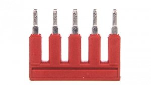 Mostek grzebieniowy 5-torowy czerwony 2002-405/000-005 TOPJOBS