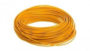 Przewód instalacyjny H05V-K 0,75 żółty 29105 /100m/