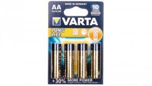 Bateria alkaliczna LR6 / AA LONGLIFE /4 szt./