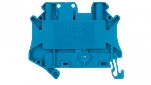 Złączka szynowa rozłączalna 2-przewodowa 2,5mm2 niebieska UT 2,5-TG-P/P BU 3046582 /50szt./