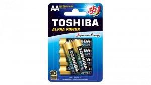 Bateria ultra alkaliczna LR6 / AA 1,5V ALPHA POWER LR6GCH BP-6 /blister 4+2szt./