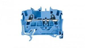 Złączka szynowa 2-przewodowa 1,5mm2 niebieska 2001-1204 TOPJOBS