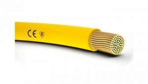 Przewód instalacyjny H05V-K 0,75 żółty 4510112 /100m/