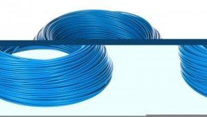 Przewód instalacyjny H05V-K 0,75 niebieski 29099 /100m/