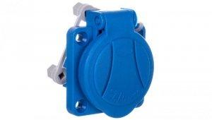 Gniazdo natablicowe niebieskie 16A 230V 2P+Z IP54 GN-16A 921815