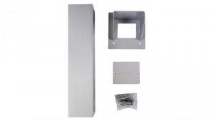 Simon Connect Miniolumna ALK jednostronna 5xK45 anodyzowane aluminium ALK115/8