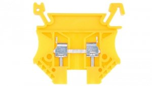 Złączka szynowa 2-przewodowa 2,5mm2 żółta EURO 43408N