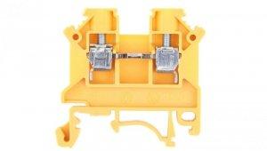 Złączka szynowa 2-przewodowa 4mm2 żółta NOWA ZSG 1-4.0Nz 11321314