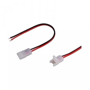 Konektor Złączka Taśm LED V-TAC z przewodami do Taśm i Pasków LED Gęste i Zwykłe 8mm