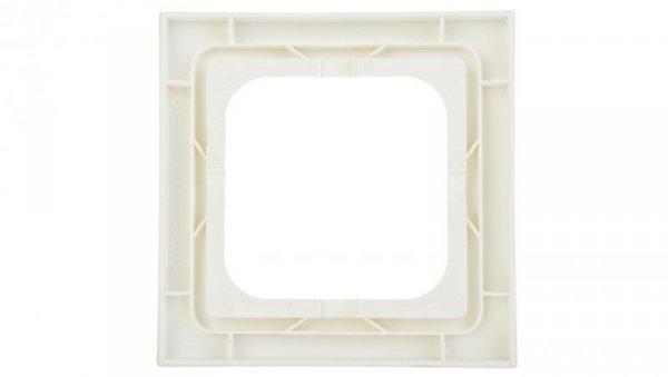 AS Ramka pojedyncza do łączników IP44 ecru RH-1G/27