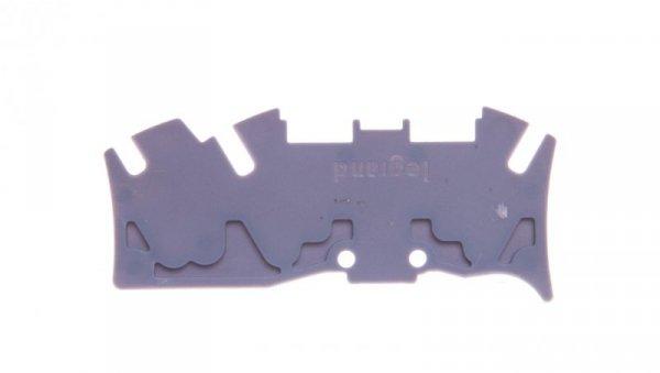 Osłona końcowa złączek spręzynowych 1 wejście/ 2 wyjścia szara 037587