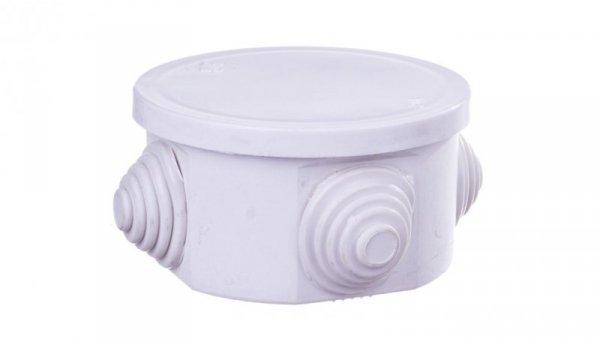 Fast-Box Puszka natynkowa hermetyczna pojedyncza 65x35mm IP44 biała 0240-00