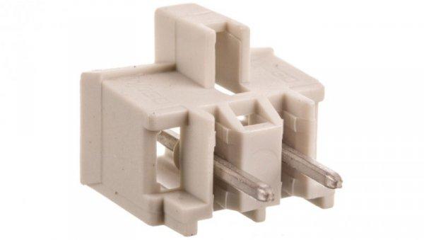 Wtyk MCS-MIDI Classic 2-biegunowy jasnoszary raster 5mm 721-132/001-000