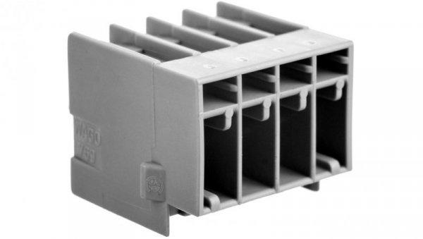 Wtyk X-COM 4-biegunowy szary raster 5mm 769-634 /50szt./