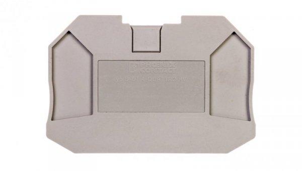 Pokrywa zamykająca szara D-UT 4-QUATTRO HV 3048852 /50szt./