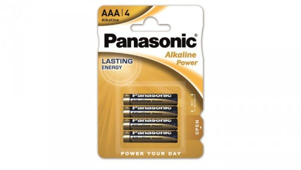 Bateria alkaliczna LR03 / AAA 1,5V /blister 4szt./