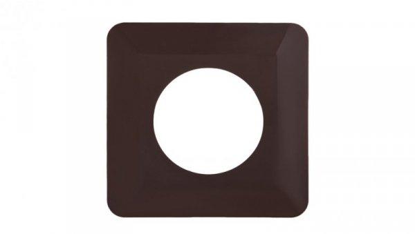 Osłona ściany pojedyncza brązowa OSX-910-BRA YNS10000046