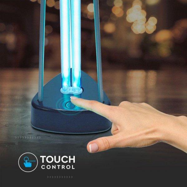 Lampa Bakteriobójcza Wirusobójcza 38W 60m2 UVC OZON V-TAC VT-3238