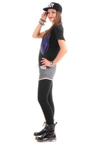 ADRIA bardzo ciepłe legginsy ze spodenkami, dwa modele kolorystyczne
