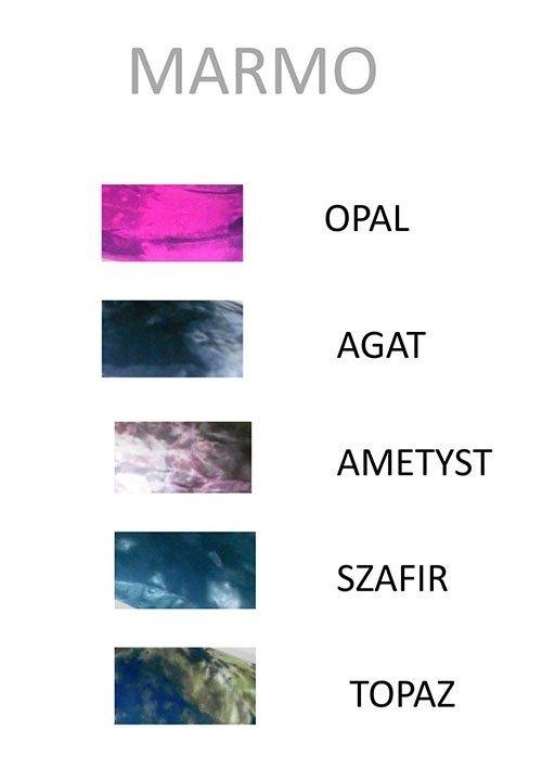 SPIGA MARMO OPAL batikowe rajstopy z mikrofibry, 60 den, różowe