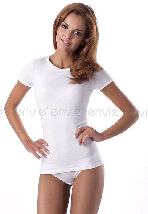 ENVIE T-SHIRT COTTON bawełniana koszulka z krótkimi rękawami, różne kolory, biała, szara, czarna, czerwona, oliwkowa, brązowa, lilowa, pomarańczowa, granatowa
