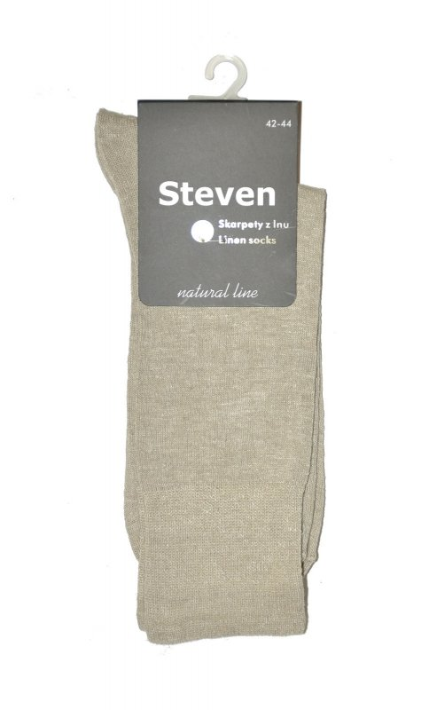 Skarpety Steven art.049 Natural Linen