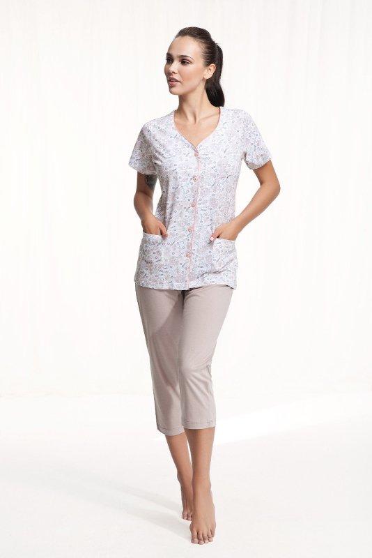Piżama Luna 476 kr/r 4XL damska