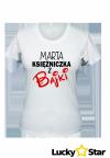 Zestaw koszulek dla par Księżniczka, Książę z Twoim imieniem