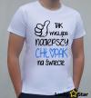 Koszulka Męska Tak wygląda najlepszy chłopak na świecie