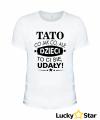 Koszulka Męska Tato co jak co, ale dzieci to ci się udały