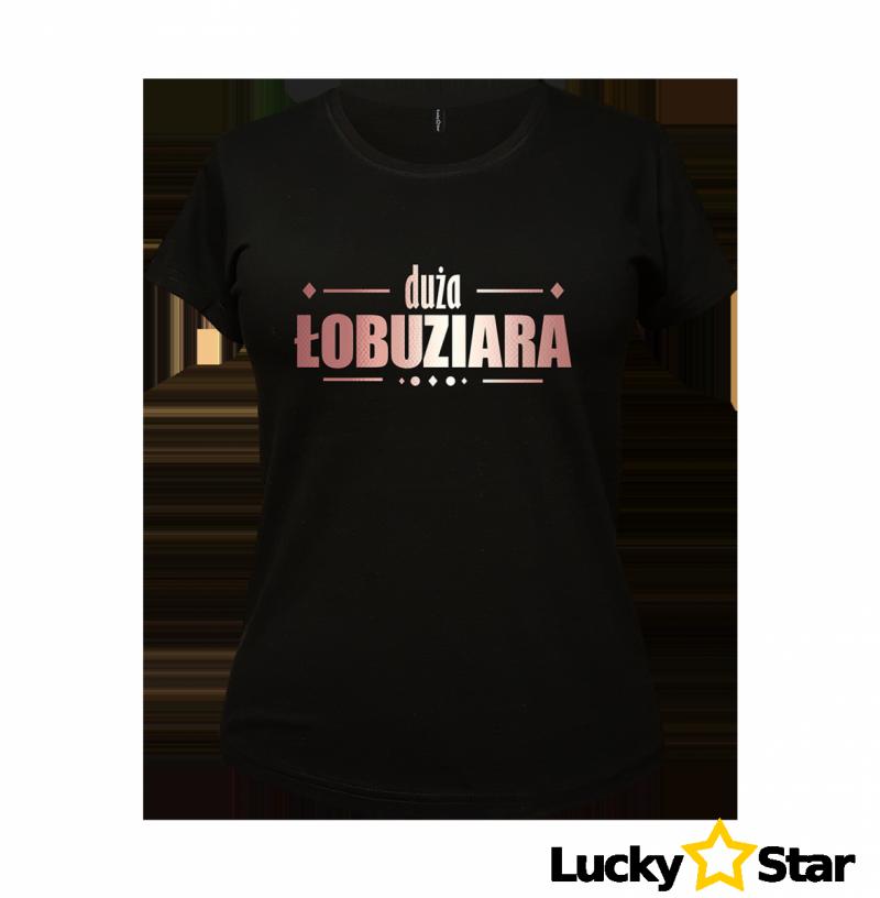 Koszulka Damska Duża Łobuziara