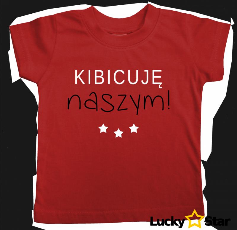 Zestaw Koszulek rodzinnych Kibicuję naszym!