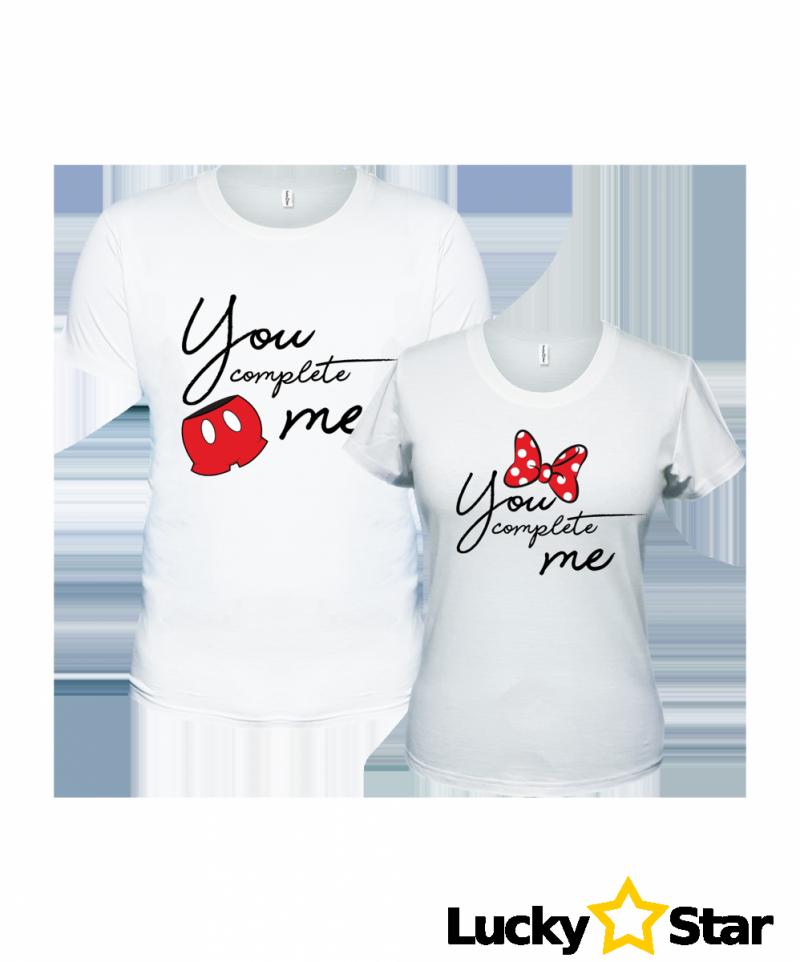 Zestaw koszulek You complete me