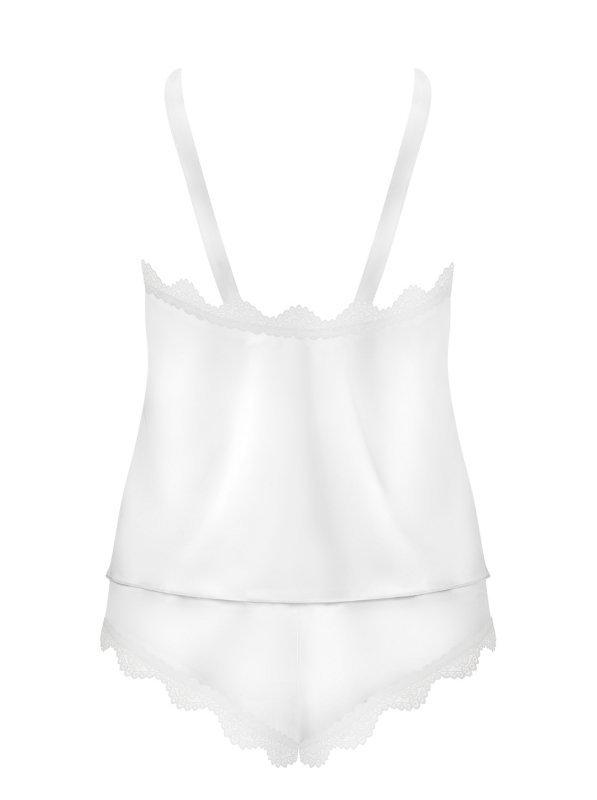 Komplet bielizny Prima Neve biały S/M