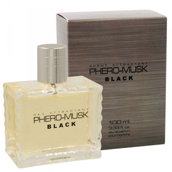 Perfumy Phero-Musk Black for men, 100 ml