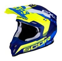 SCORPION KASK OFF-ROAD VX-16 AIR ARHUS MA BL-NE YE