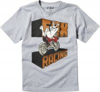 FOX T-SHIRT JUNIOR SLEEPER LIGHT HEATHER GREY