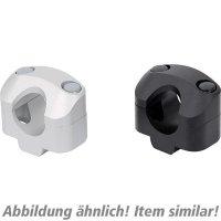 SW-MoTech Handlebar clamps 22 on 28 mm handlebar silver Transalp 600 50180540061