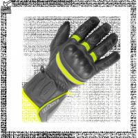 BUSE Rękawice motocyklowe  Pit Lane czarno-żółte