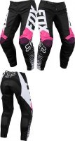 SPODNIE FOX JUNIOR LADY 180 BLACK/PINK