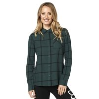 FOX KOSZULA LADY ROOST FLANNEL EMERALD