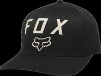 FOX CZAPKA  NUMBER 2 FLEXFIT BLACK/DARK KHAKI