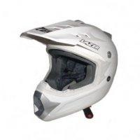 Kask motocyklowy LAZER X6 JR Solid X-Line biały