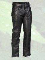 Halvarssons BC Pewter spodnie skórzane męskie
