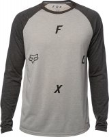 FOX CONJOIN HEATHER DARK GREY Koszula