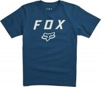 T-SHIRT FOX JUNIOR LEGACY MOTH DUSTY BLUE