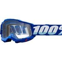 100 PROCENT GOGLE ACCURI 2 OTG GOGGLE BLUE CLEAR