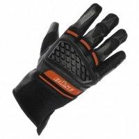 BUSE Rękawice motocyklowe Braga czarno/czerwone