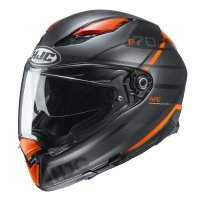 HJC KASK INTEGRALNY F70 TINO GREY/ORANGE