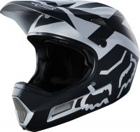 KASK ROWEROWY FOX RAMPAGE COMP PREME BLACK/CHROME